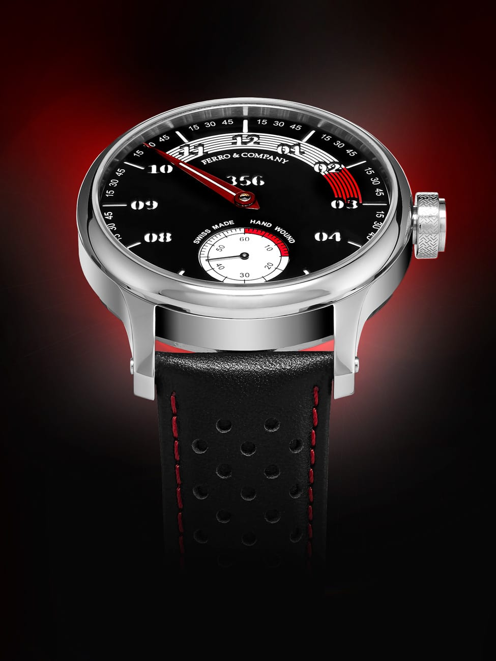 Red Space. Creative Watch Photography for Advertisement.