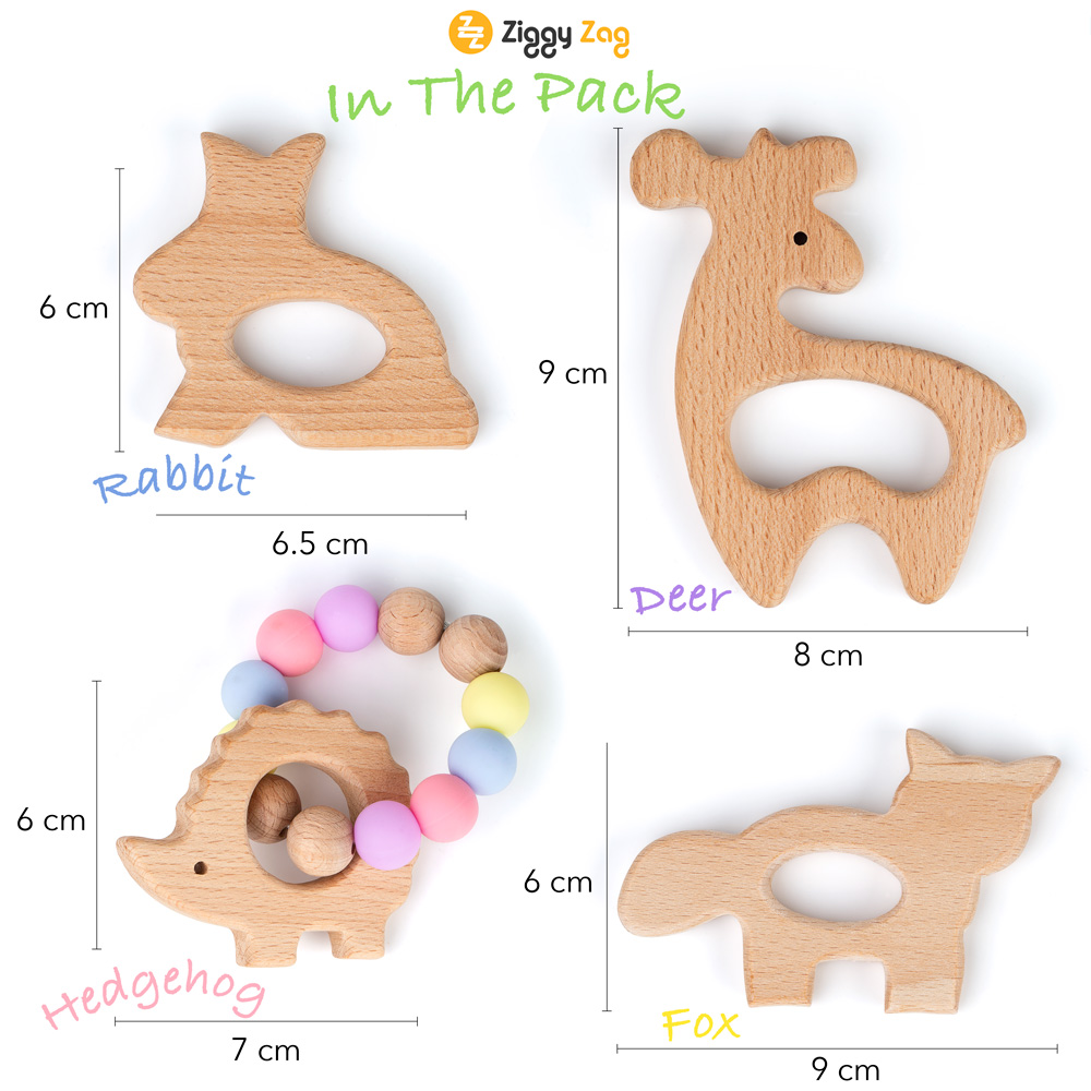 Premium Images Product Photography. Baby Wooden Teether Amazon.