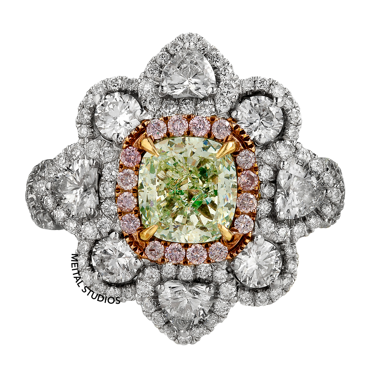Diamond Ring Front View