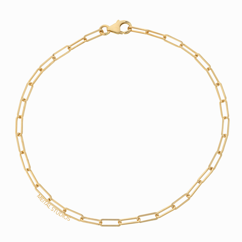Jewelry Photography Gold Chain Bracelet