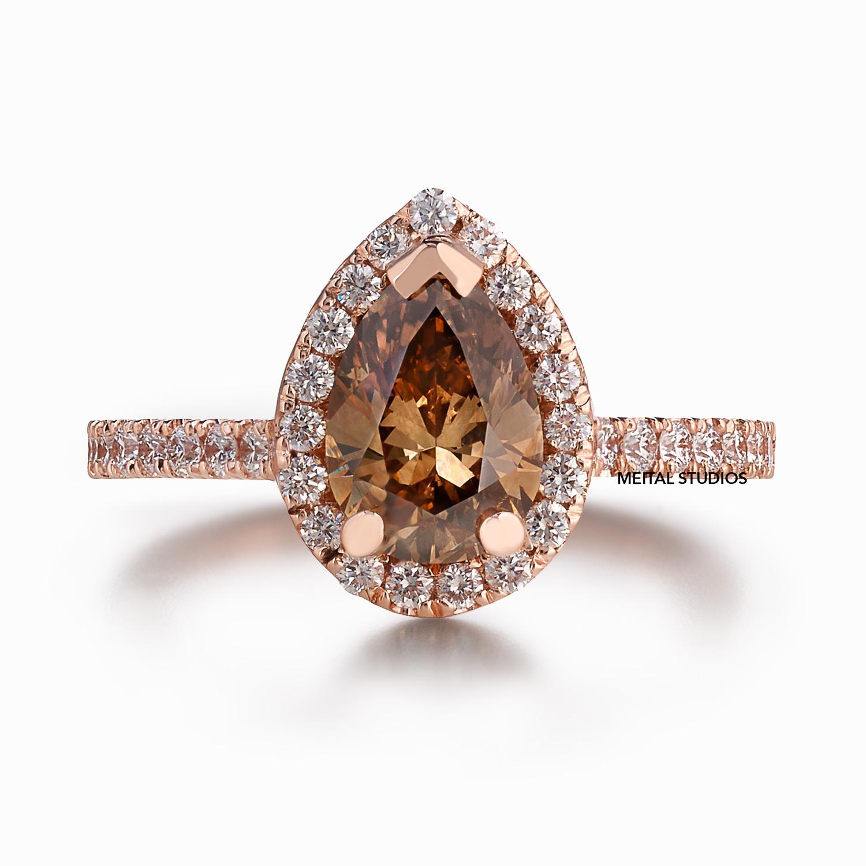 Natural Diamond Ring Front