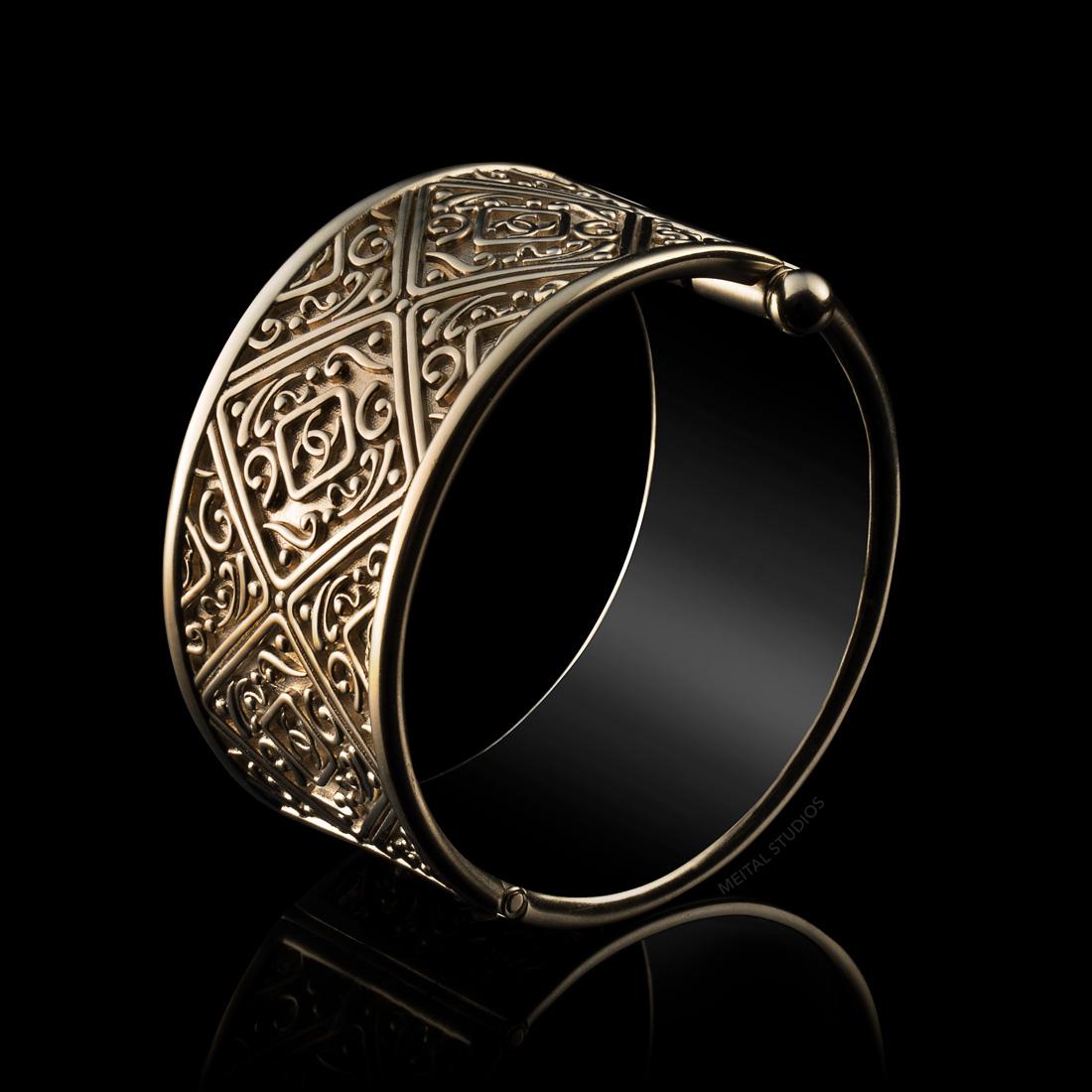 Gold Bracelet Photography