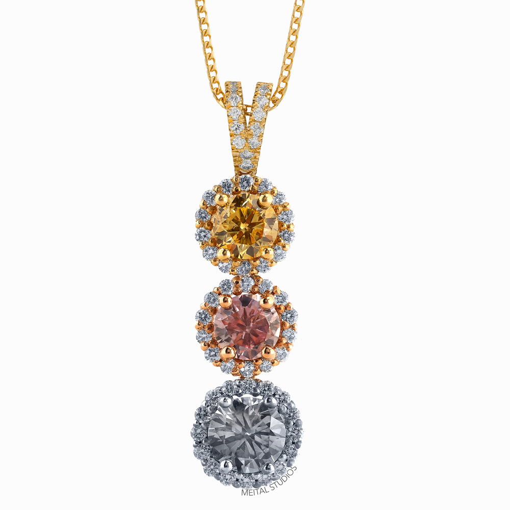 Jewelry Photography Diamond Pendant