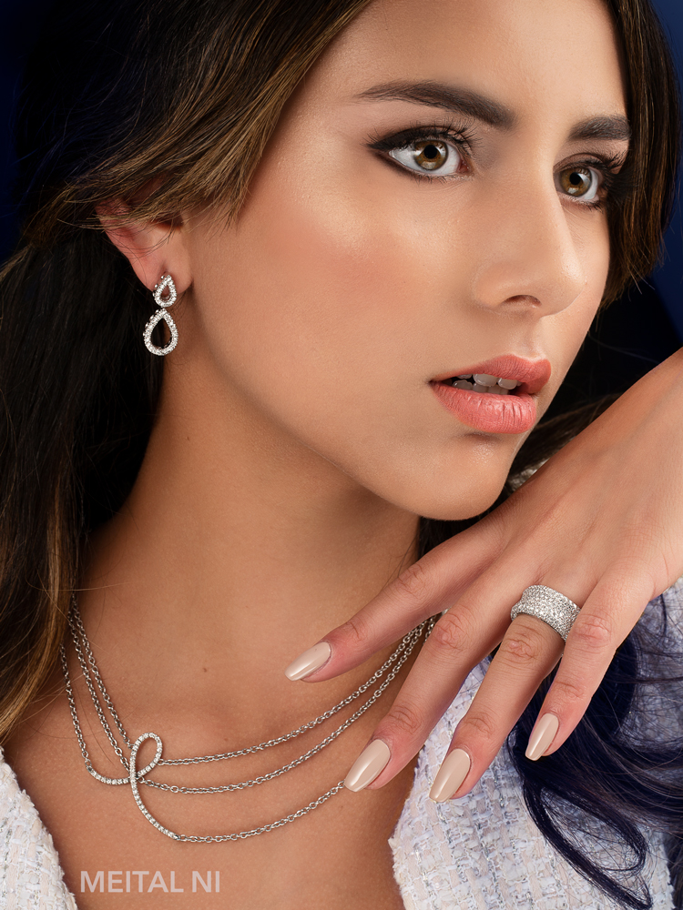 Fashion Jewelry Model.