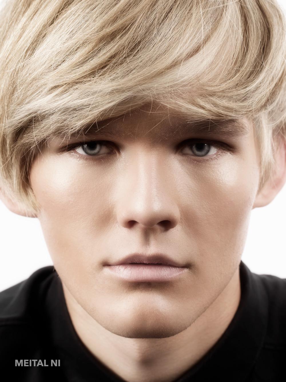 Blonde Blue Portrait.