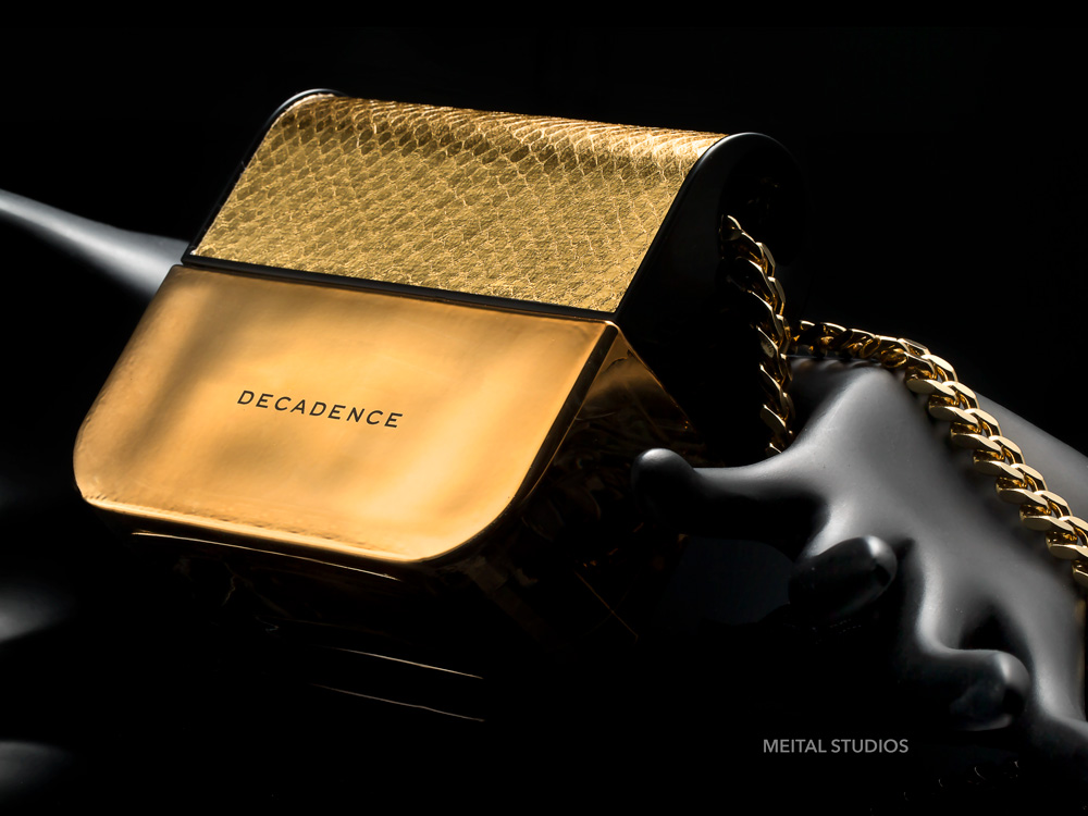 Dramatic Perfume Photography