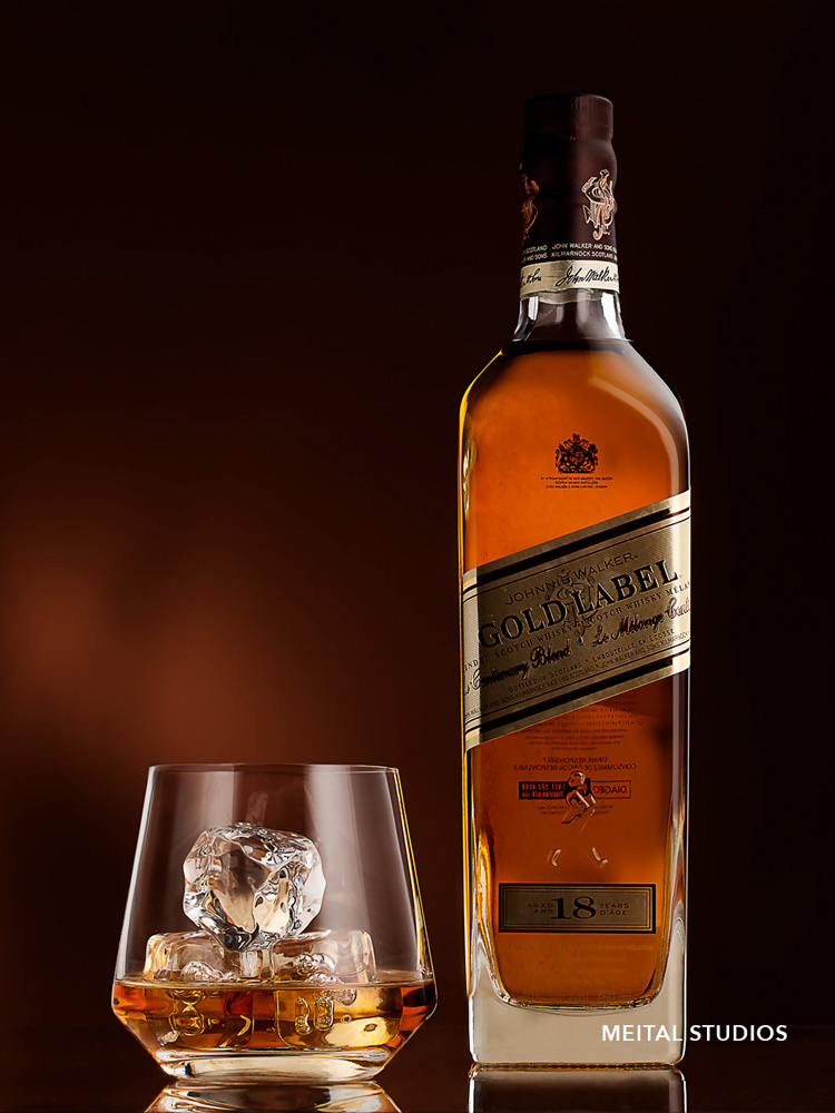 Whiskey Bottle & Cup
