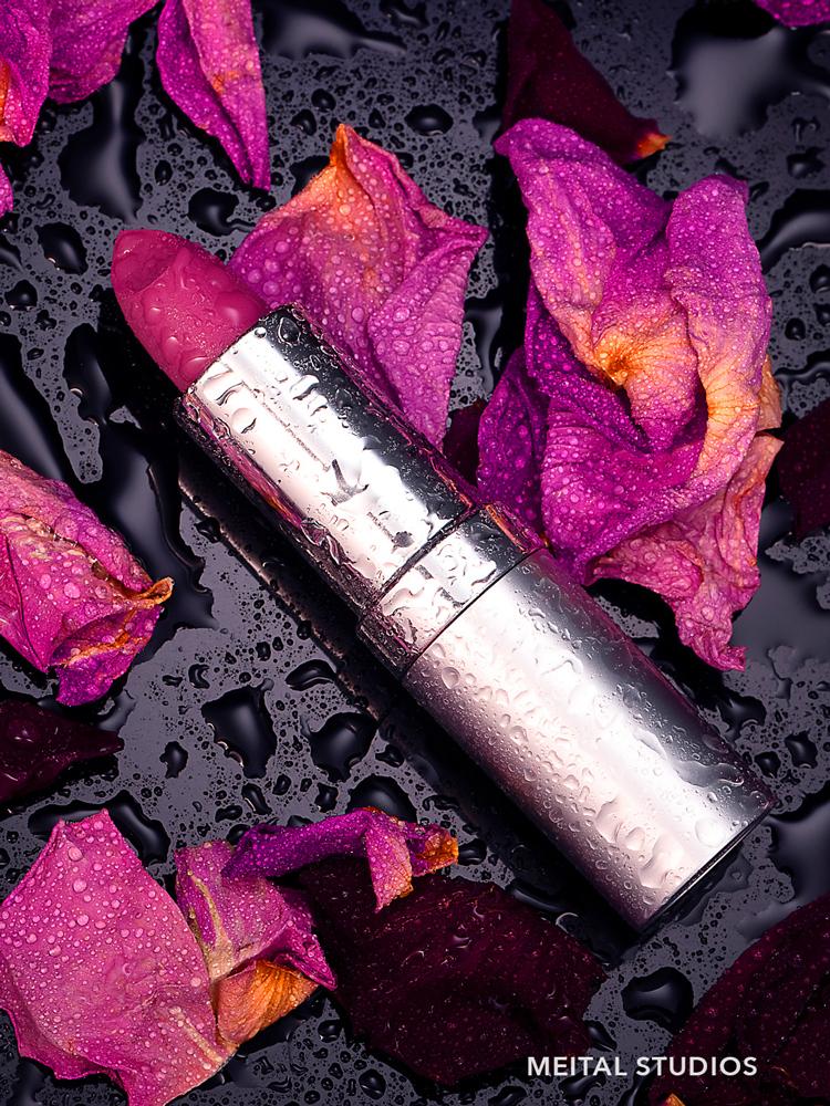 Pink Rose Lipstick.