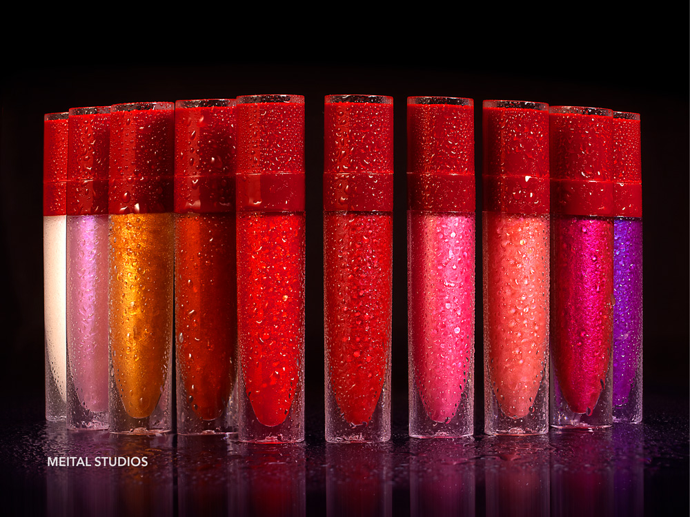 Water Drops on Lipgloss